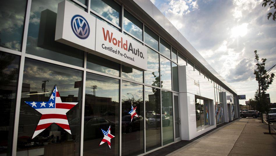 VW-Händler in den USA