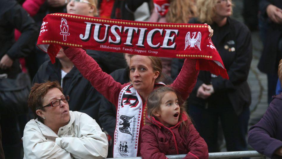 Liverpooler Fans forderten seit Jahren Gerechtigkeit