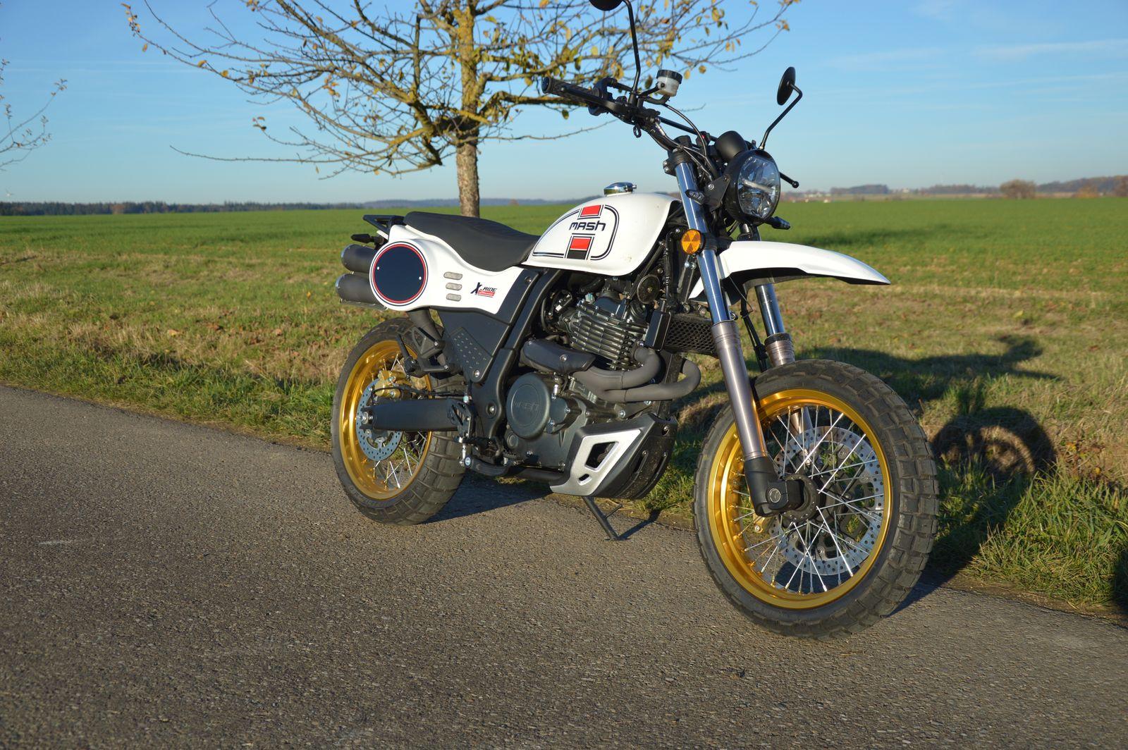 Motorräder aus China: Mash X-Ride 650