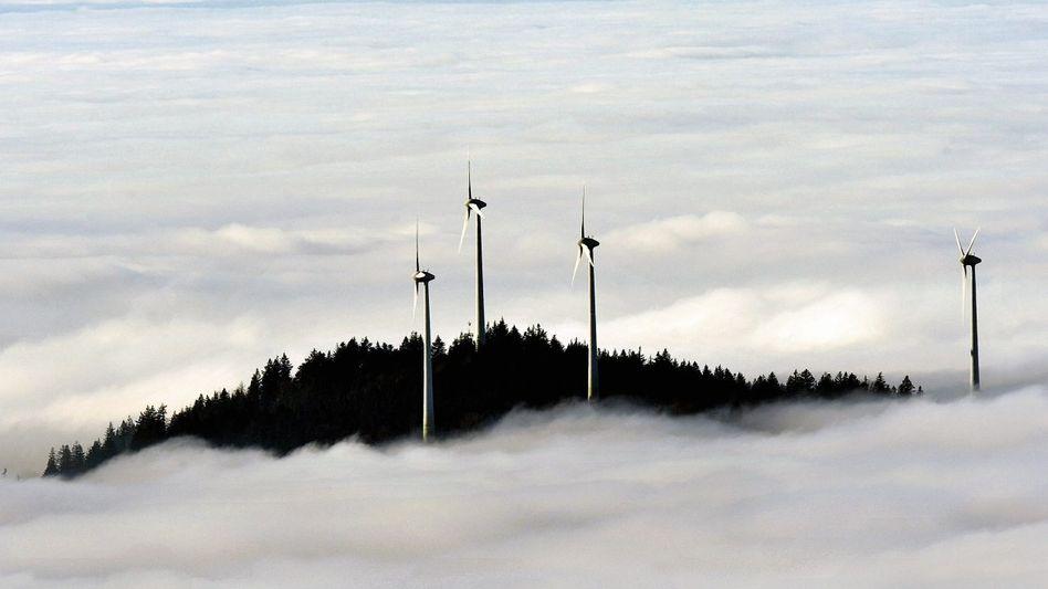Windkraftanlagen bei Freiburg