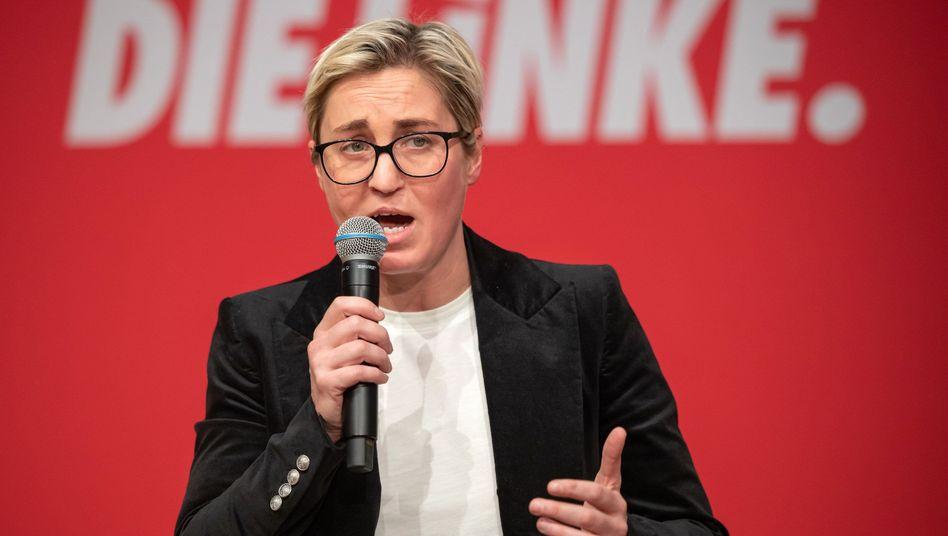 """Landesvorsitzende Susanne Hennig-Wellsow (Die Linke): """"Das ist ein Zwischenschritt"""""""