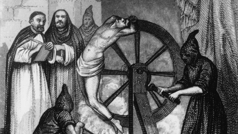 Exzessive Gewaltanwendung (hier Inquisitoren um 1500) ist sicher keine Lösung. Aber reicht eine Rüge für überführte Abschreiber?