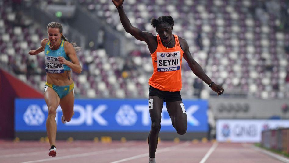 Aminatou Seyni: Dann eben über 200 Meter