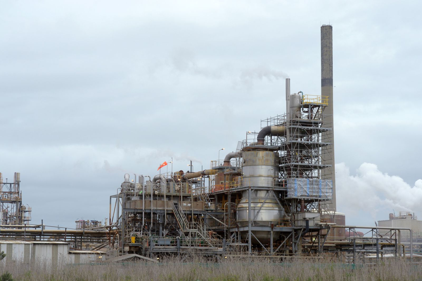 General Views of the Kwinana Industrial Area in Western Australia