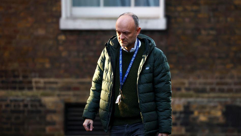 Dominic Cummings: Der Regierungsberater ist Johnsons Weggefährte aus dem Wahlkampf um das Brexit-Referendum im Jahr 2016