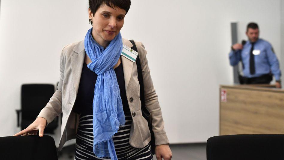 Frauke Petry vor Gericht in Dresden