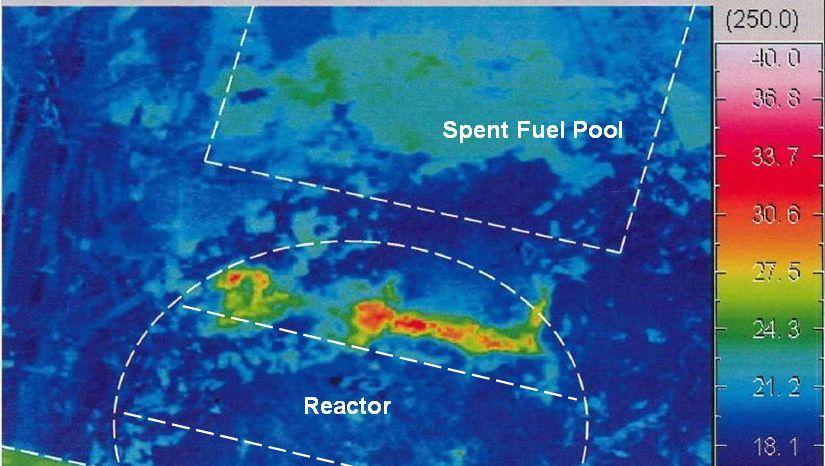 Temperaturen im Inneren des Reaktors: Wie weit drang die Kernschmelze durch?