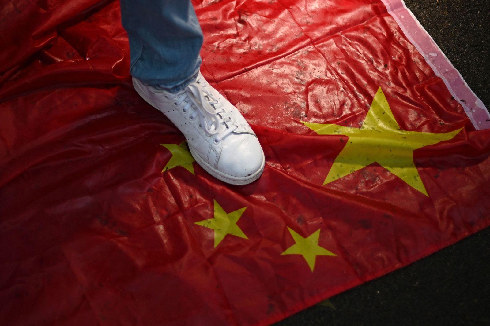 BRITAIN-CHINA-TIANANMEN-PROTEST-VIGIL