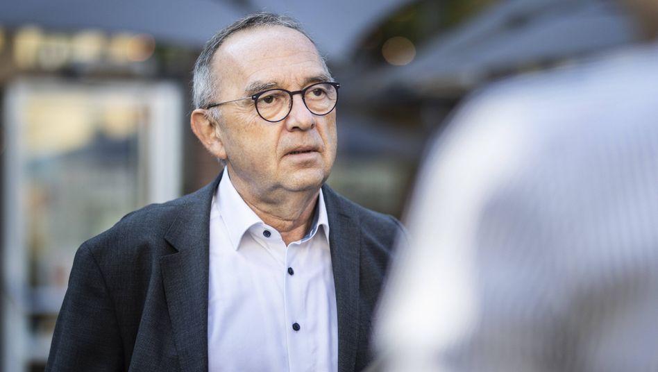SPD-Chef Norbert Walter-Borjans: