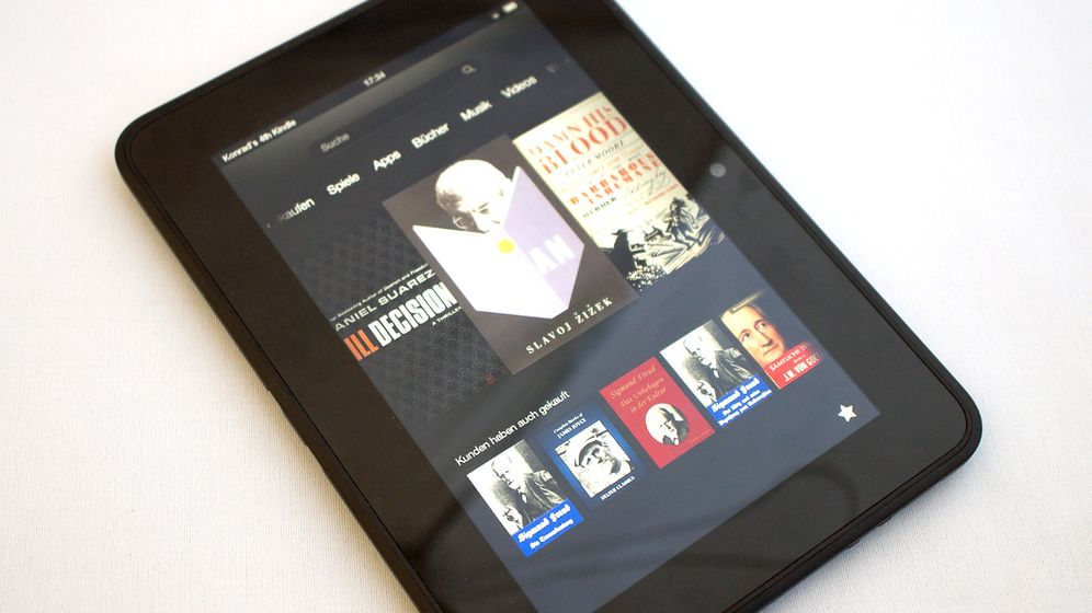 Amazon-Tablet: So sieht der Kindle Fire HD aus