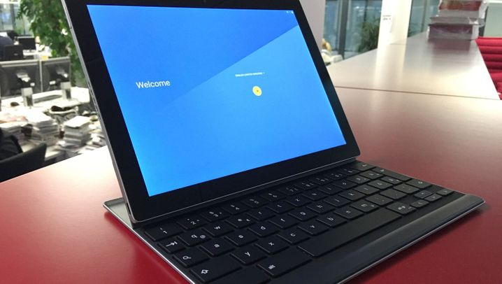 Eine magnetische Verbindung: Googles Pixel-C-Tablet