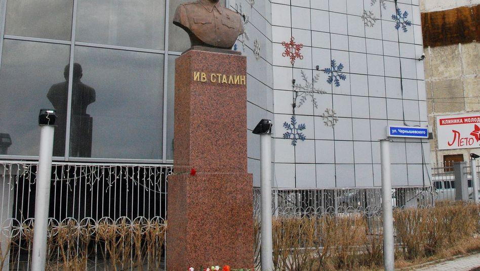 """Stalin-Büste in Jakutsk: """"Wichtige Rolle beim Sieg über das Nazi-Regime"""""""