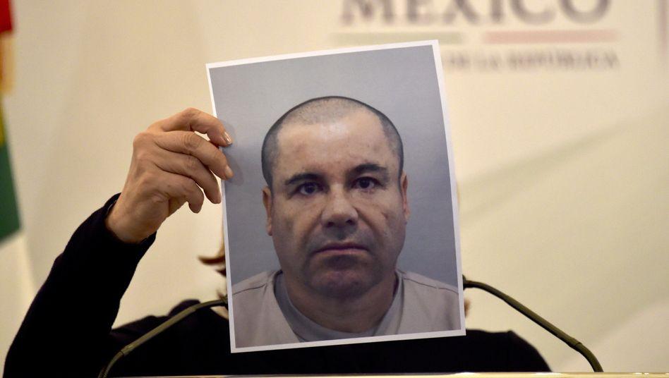 """Fahndungsbild von """"El Chapo"""": Drogenboss hatte Komplizen im Gefängnis"""