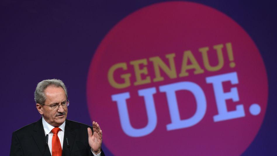 Christian Ude (SPD): Fast einstimmig zum Spitzenkandidaten für die Landtagswahl gewählt
