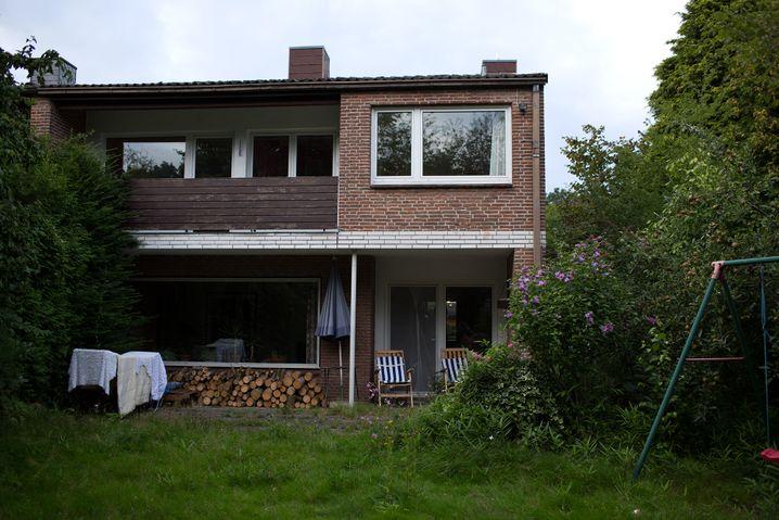 In seinem Haus im Norden Hamburgs nahm Heinrich M. die Familie aus Syrien auf.