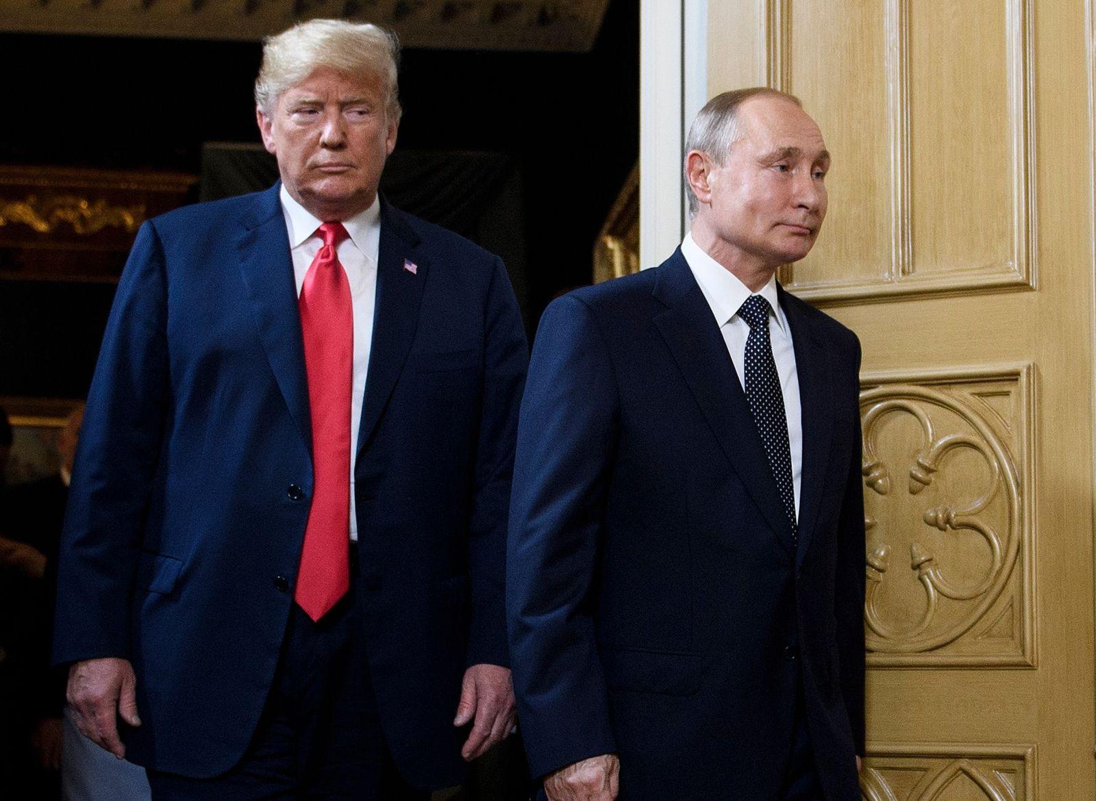 Donald Trump/ Wladimir Putin