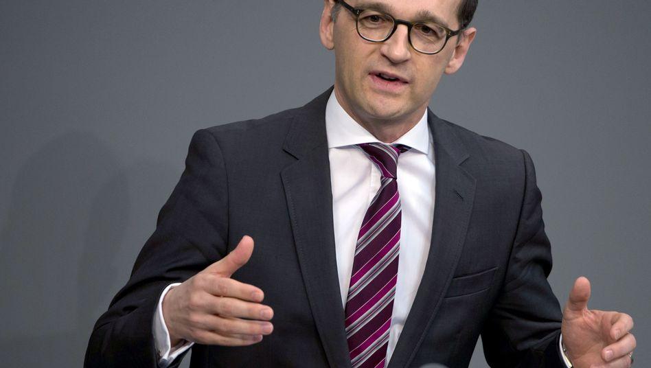 """Justizminister Maas: """"Schrille Töne verschärfen die Debatte"""""""