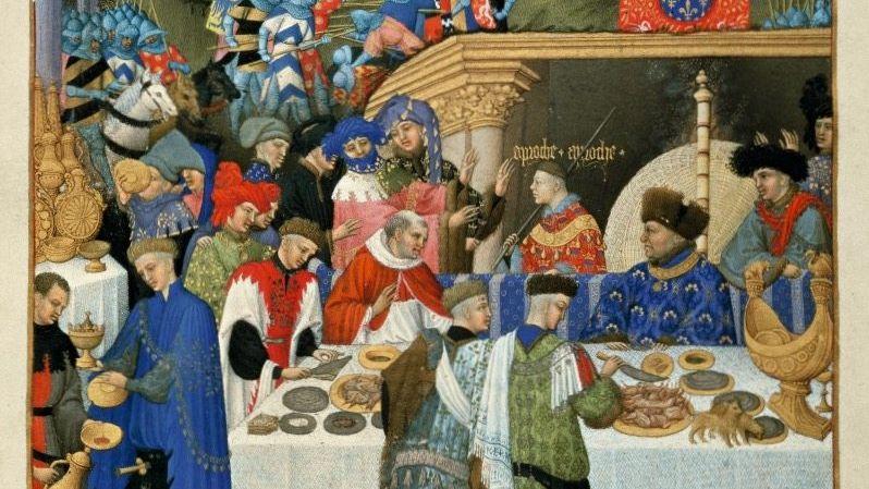 Stundenbuch des Herzogs von Berry, entstanden um 1415