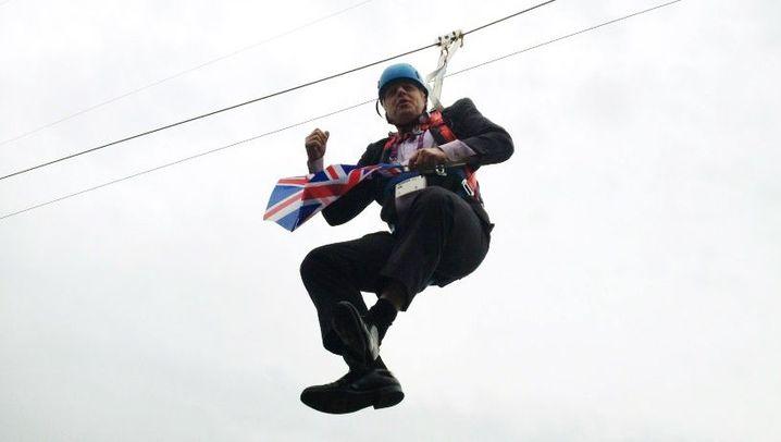 Boris Johnson: Oberster Cheerleader der Nation