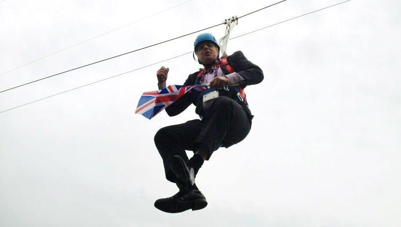 Londons Bürgermeister Boris Johnson: Ein Clown will hoch hinaus