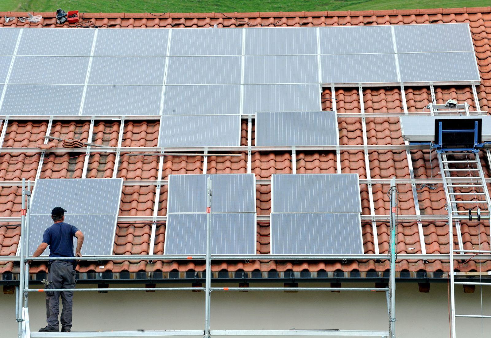 Solaranlage / Wohnhaus