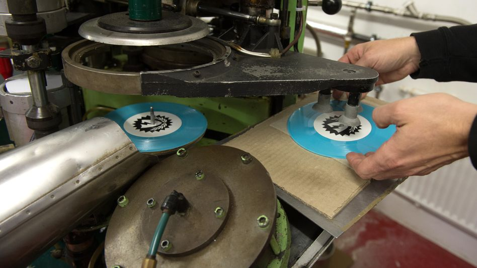 Schallplattenpresse