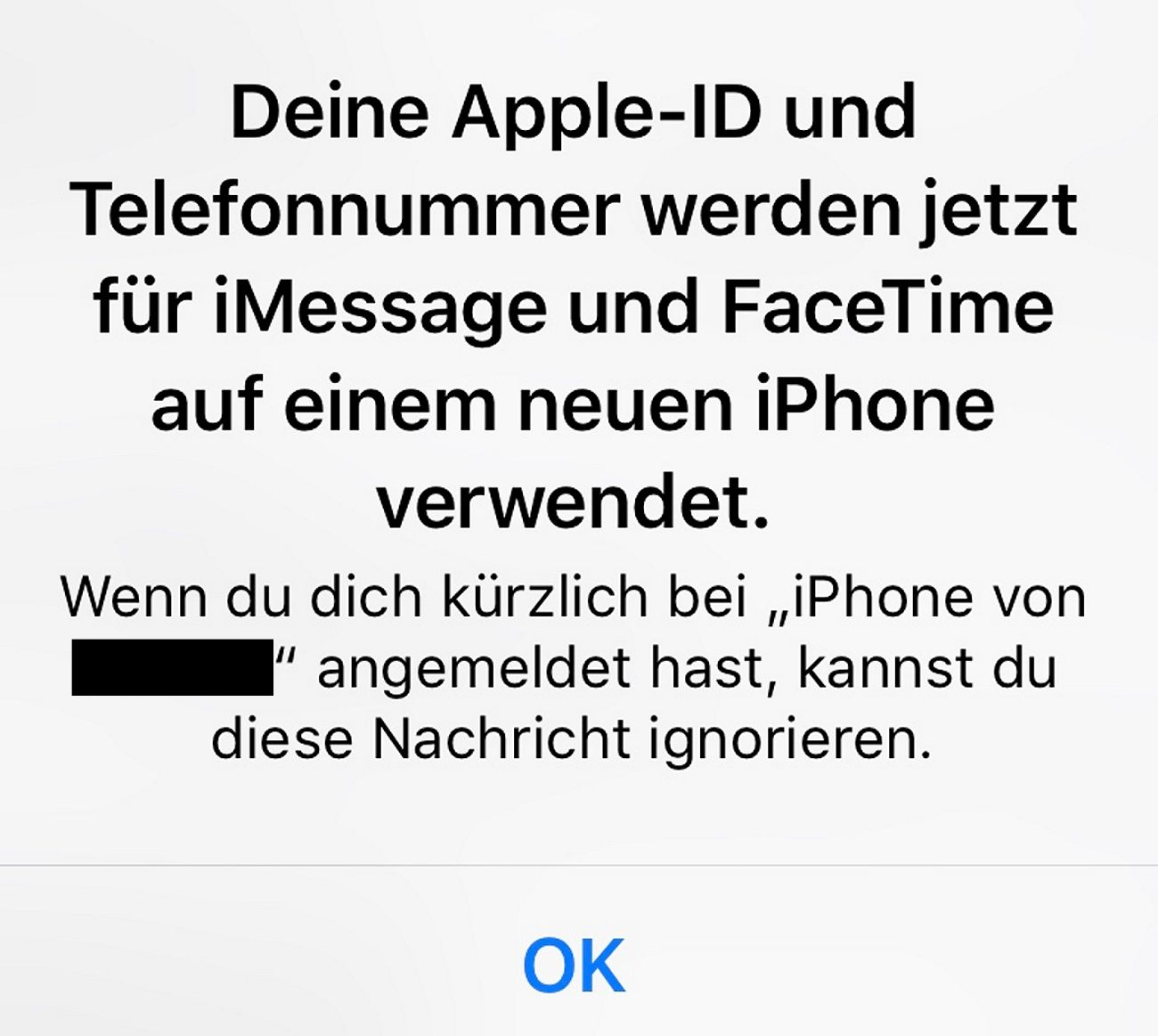 Accountsicherheit/ Apple / Facebook