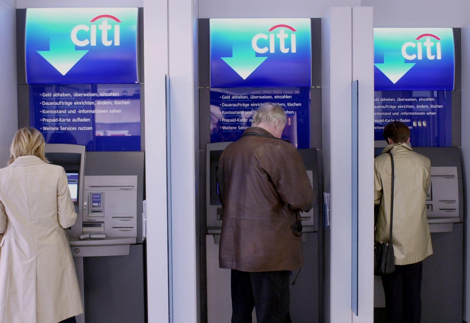 NICHT VERWENDEN Geldautomat