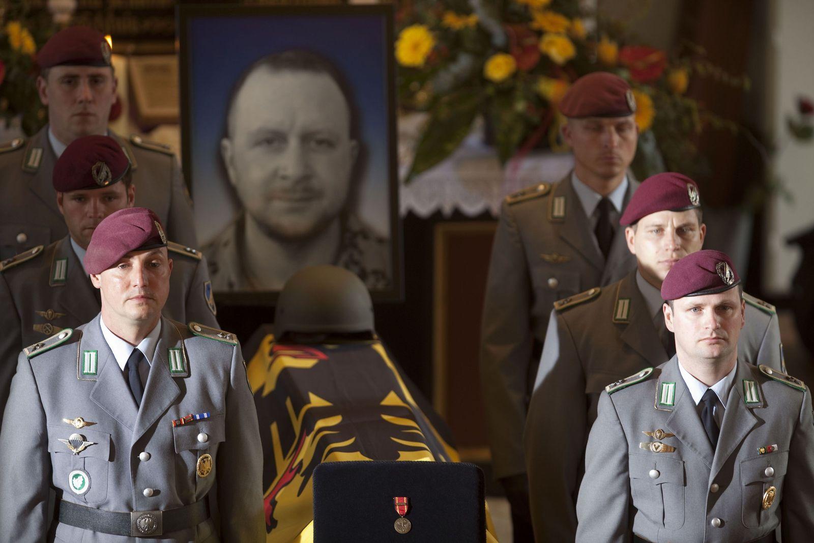 Trauerfeier Nils Bruns Soldat Afghanistan Bundeswehr