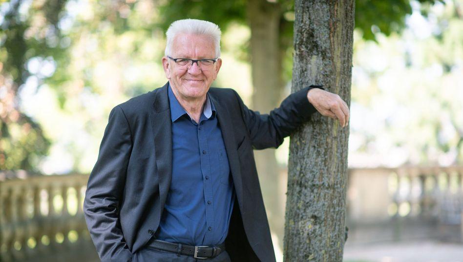 Ministerpräsident Kretschmann: »Frisch von dannen«