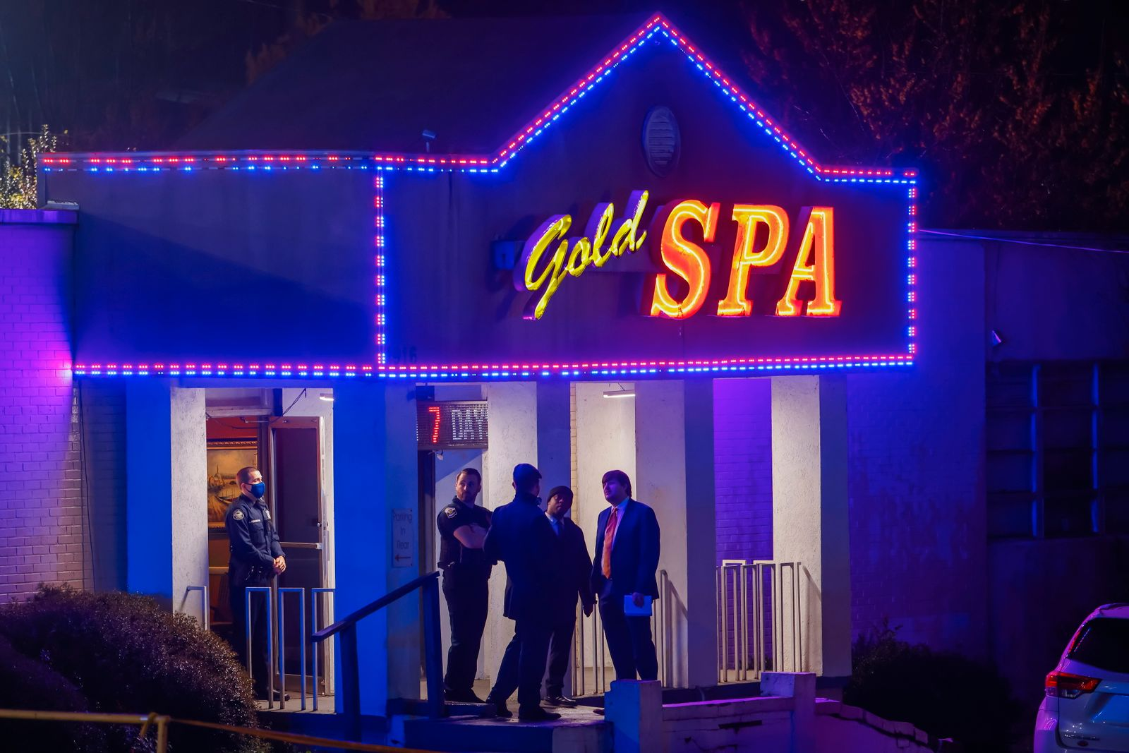At least eight killed in multiple shootings at Asian massage spas in Atlanta area