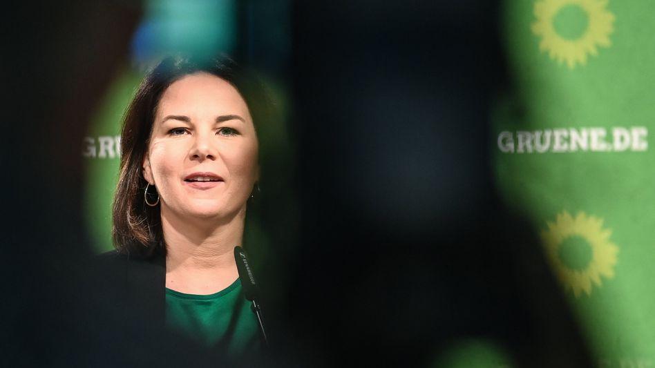 Grünenchefin Annalena Baerbock: Steigende Beliebtheit in der Bevölkerung