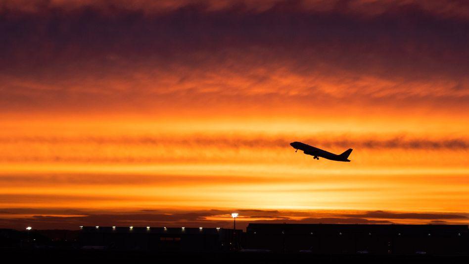 Flugzeuge haben einen Anteil von fünf Prozent am globalen CO2-Ausstoß