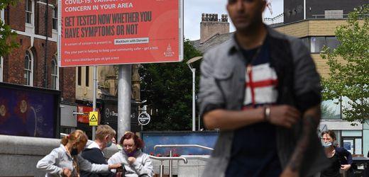 Corona-News: Briten melden höchsten Neuinfektionswert seit Februar...