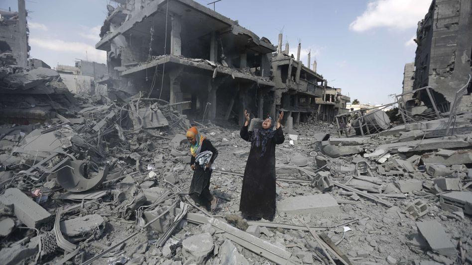 Israel für längere Feuerpause: Zahl der Toten in Gaza steigt auf über 1000