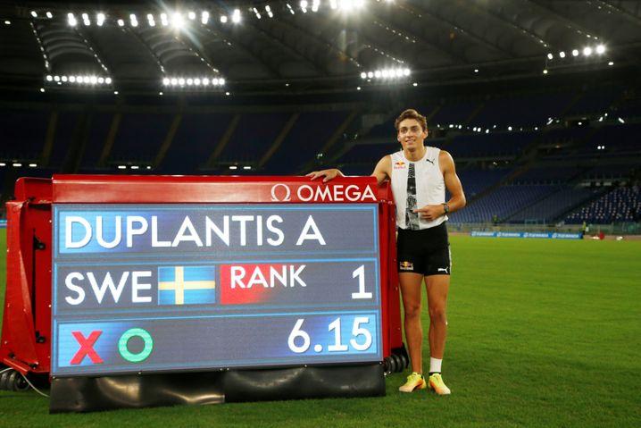 Die Bestmarke und der Weltrekordhalter