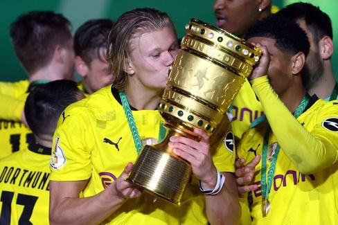 DFB-Pokalsieger Borussia Dortmund, Torschütze Haaland