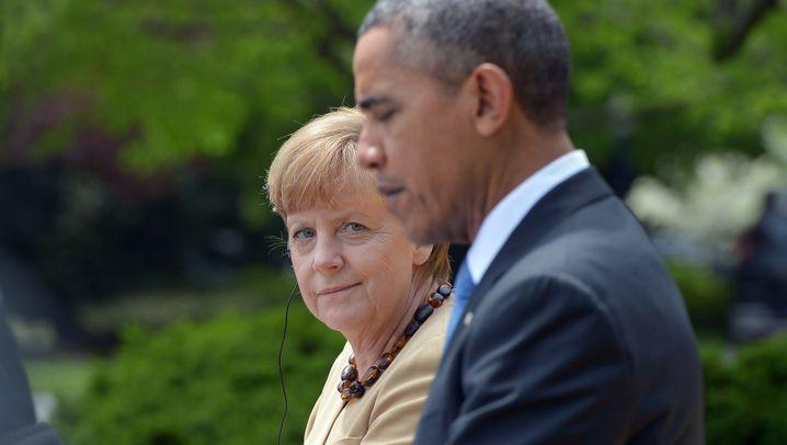 Fotostrecke: Kanzlerin im Weißen Haus