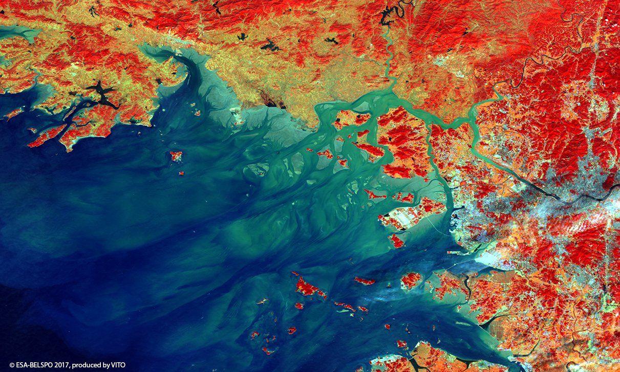 Satellitenbild / KW27 / Seoul