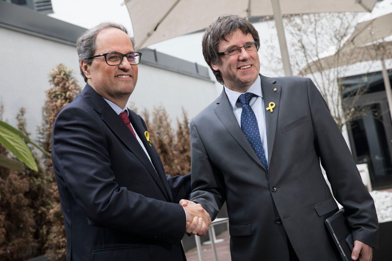 Quim Torra / Carles Puigdemont