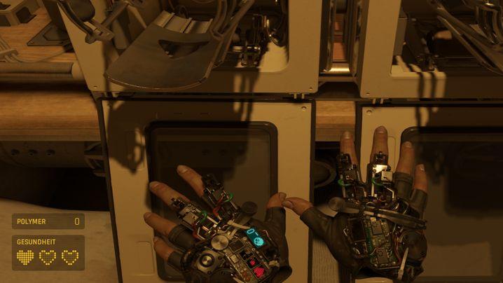 Sehr hilfreich: Die Gravitationshandschuhe von Alyx Vance. Mit ihnen lassen sich Gegenstände anziehen
