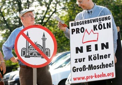 """Not just about the mosque: The """"Pro Köln"""" movement has roots in the German far right."""