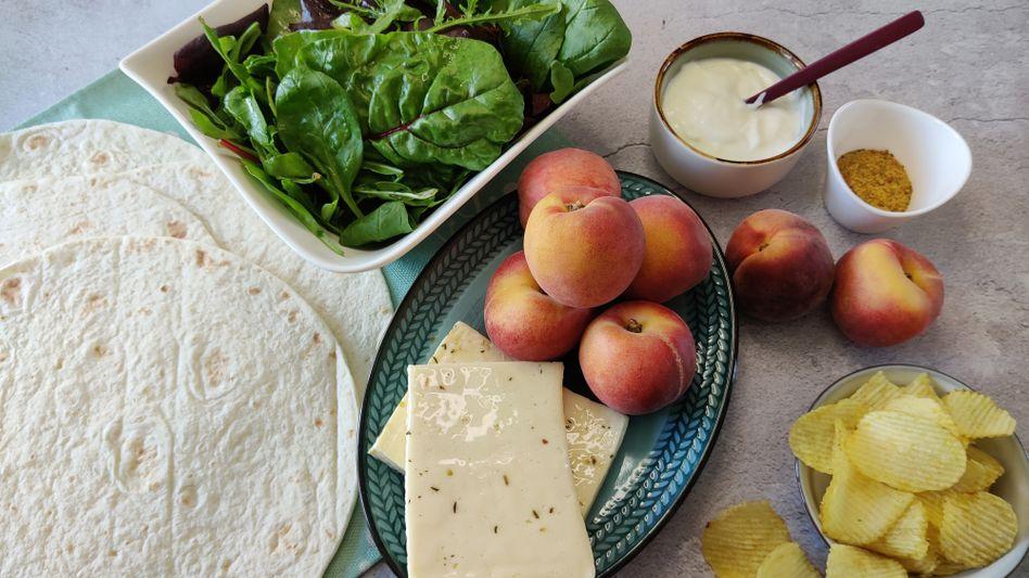 Heimische Pfirsiche haben im Juli und August Saison. Die beste Zeit also, um zuzuschlagen!