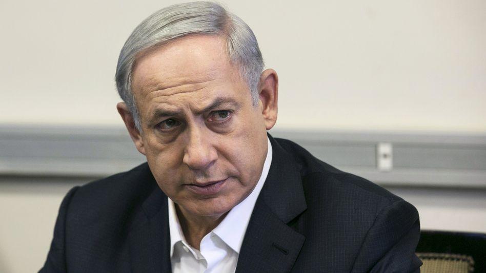 """Israels Premier Netanyahu: """"Angespannte Sicherheitslage"""""""