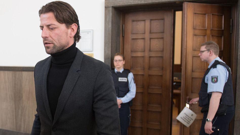 Roman Weidenfeller im Landgericht Dortmund