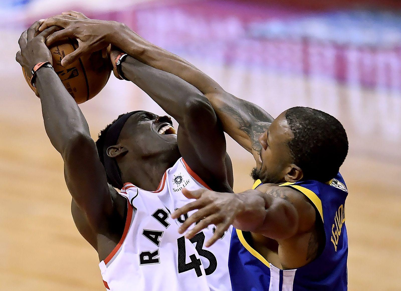 NBA Finale Krieger Raptoren Basketball