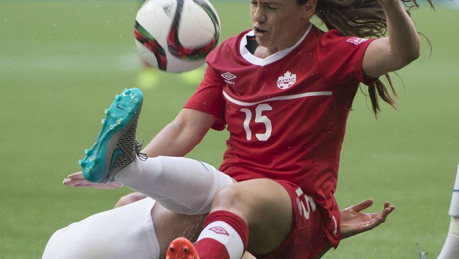 Kanadische Nationalspielerin Allysha Chapman: Niederlage gegen England