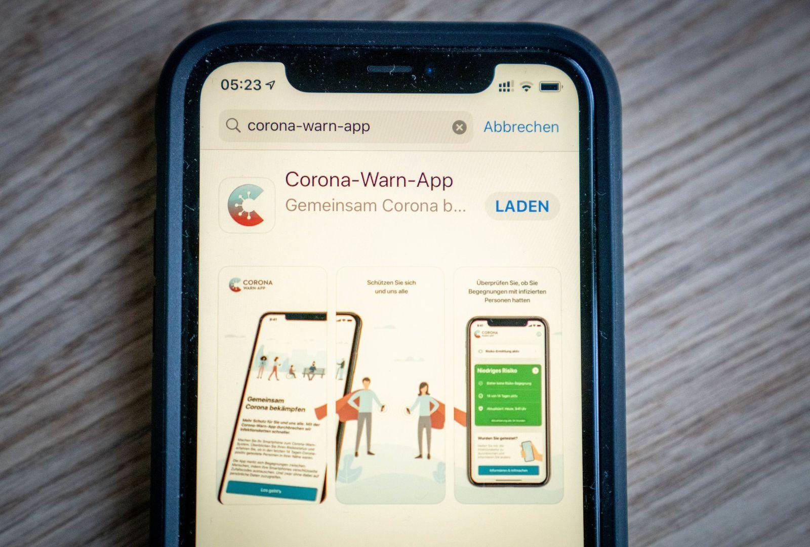 Offizielle Corona-Warn-App steht zum Download bereit