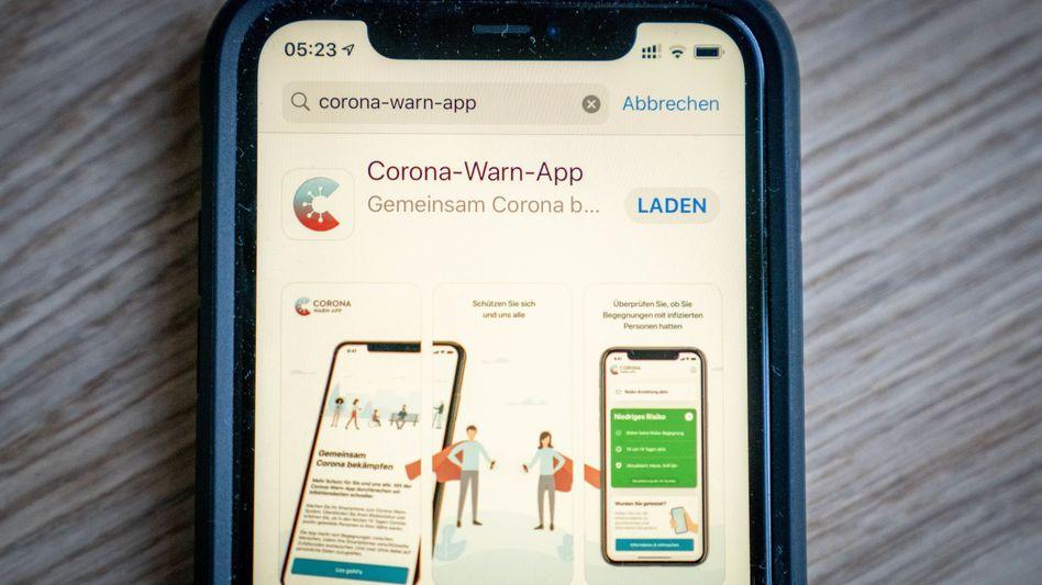Die offizielle Corona-Warn-App kostet den Staat erst einmal rund 68 Millionen Euro