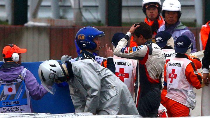 Formel 1: Angst um Bianchi überschattet Hamiltons Sieg